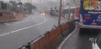 Alagamentos em São Paulo Avenida Francisco Morato