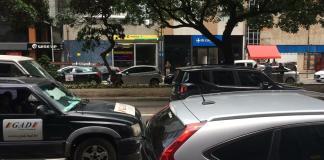 Carros Rua da Consolação