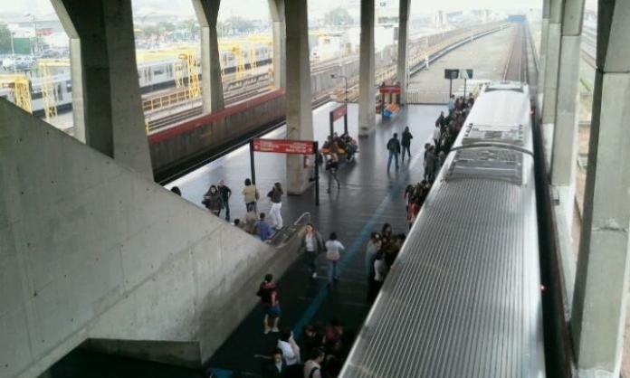 Frota Estação Belém da Linha 3-Vermelha
