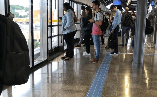 Estação Camilo Haddad Linha 15-Prata