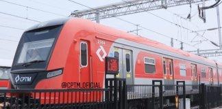 Novo trem Linha 13-Jade Série 2500