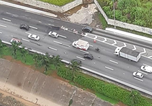 Buraco na Marginal Tietê