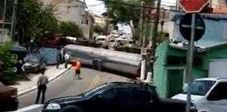 Caminhão Rua das Heras