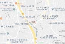 Rua Guaniqué Vila Natália