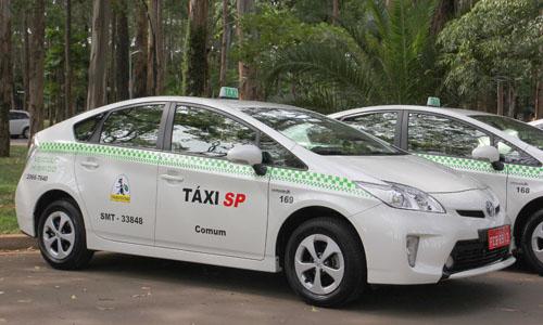 Táxi em São Paulo SPTaxi