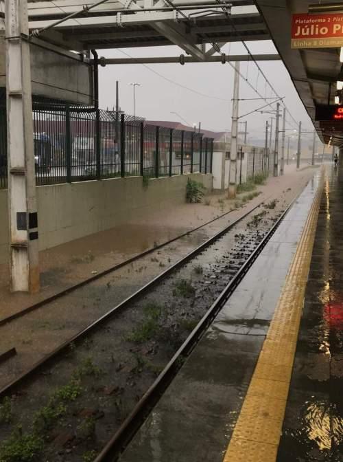 Alagamento Estação Jardim Silveira
