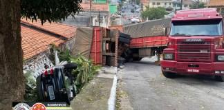 Caminhão Rua Antônio Loureiro