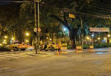 Semáforos Praça Getúlio Vargas