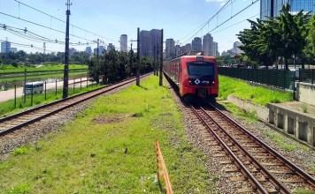 Trecho da Linha 9-Esmeralda