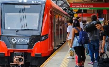 Trem novo 2500 Linha 13-Jade