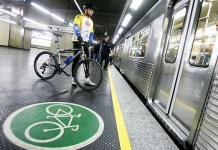 Bicicletas no Metrô
