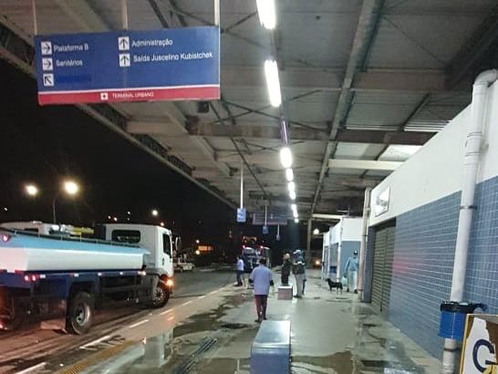 Limpeza em Guarulhos Terminais de ônibus