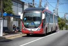 Frota de ônibus Ônibus Guarulhos Tiradentes