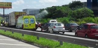 Acidente na rodovia Ayrton Senna