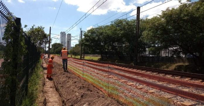 Estação João Dias Trilhos