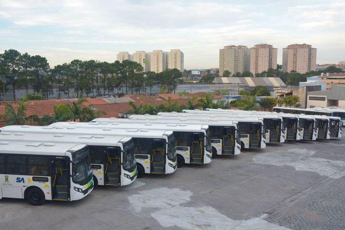 Novos ônibus Viação Guaianazes ABC