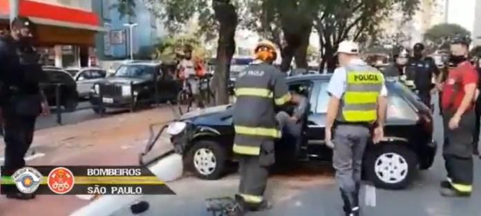 Acidente Avenida Bernardino de Campos