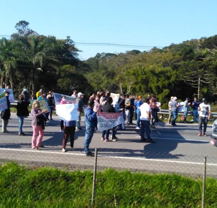Manifestação Juquitiba