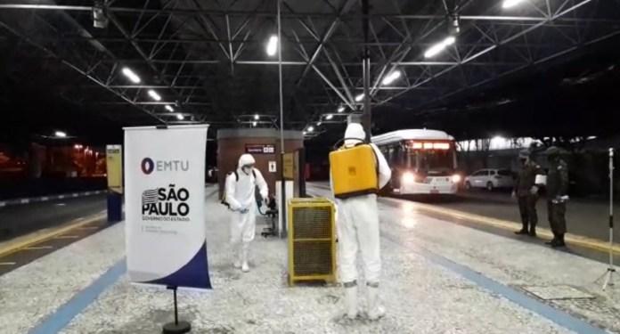 Terminal Ferrazópolis Descontaminação