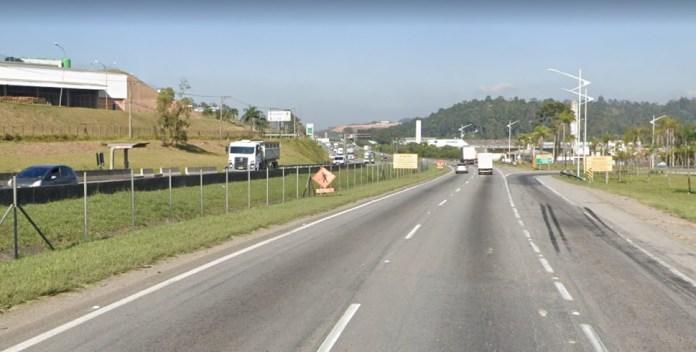 km 282 da Rodovia Régis Bittencourt