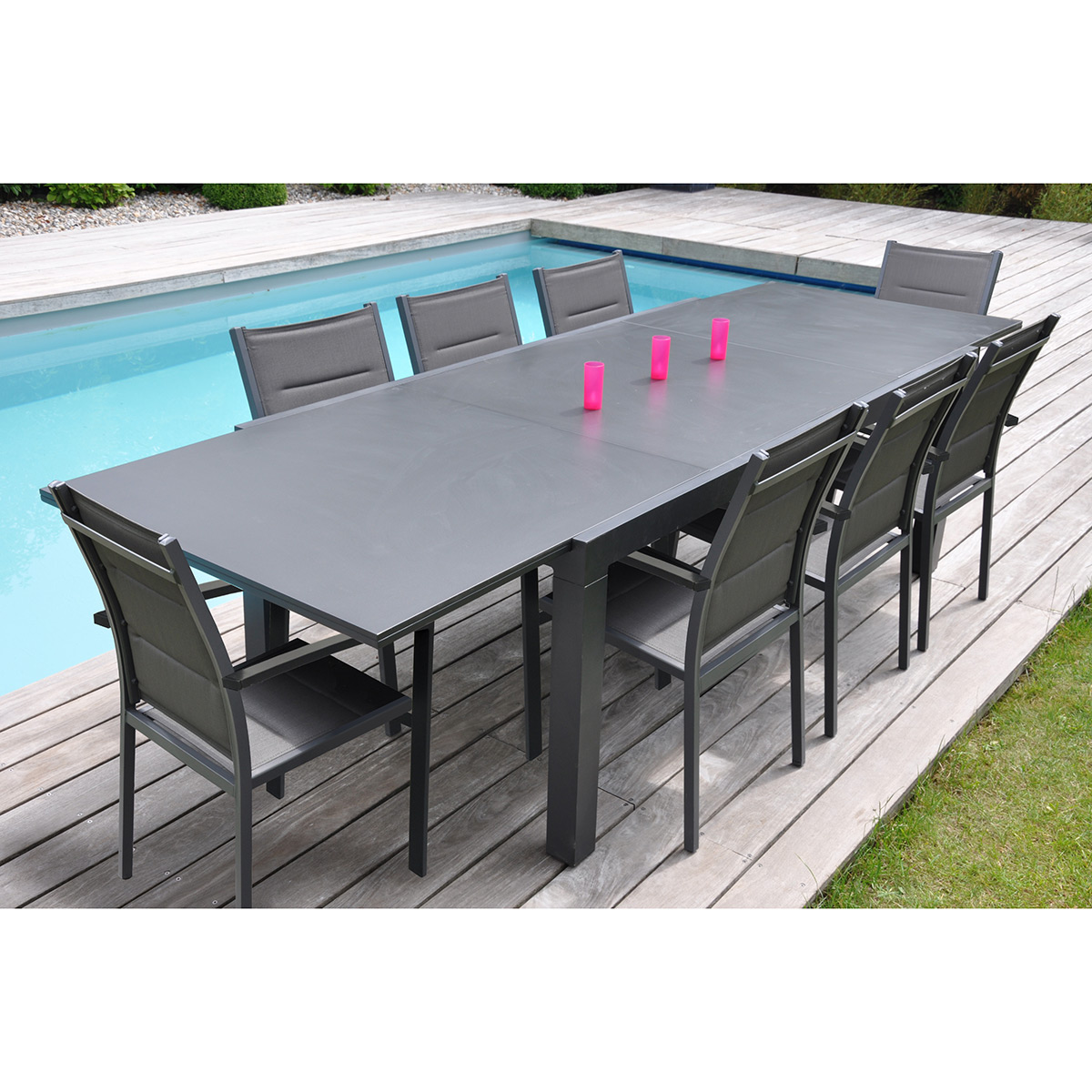 Table De Jardin En Teck Carrefour Table De Jardin 8 Places Carrefour