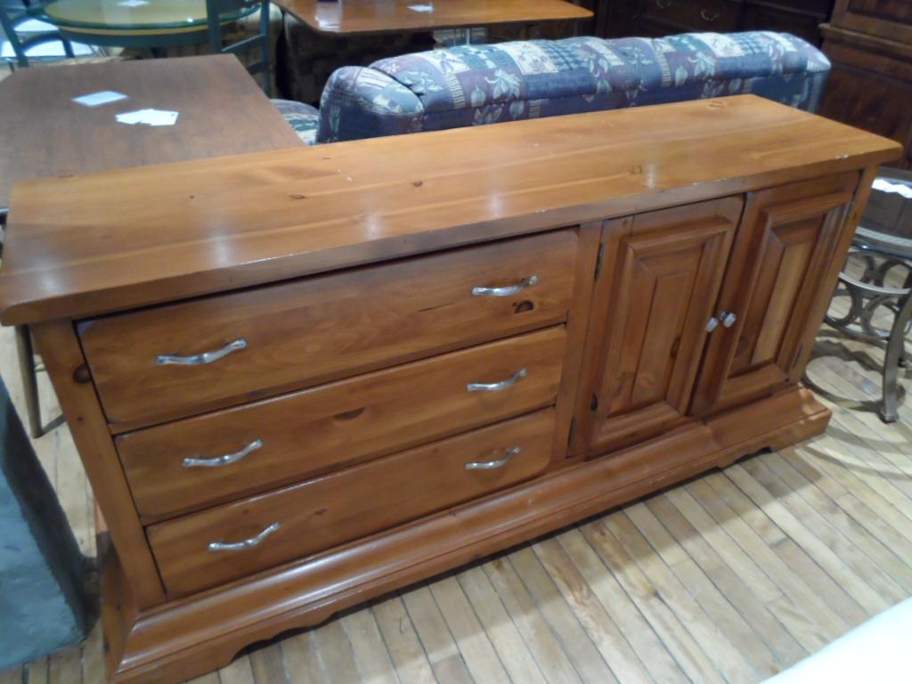 Banc en pin meubles bois du québec
