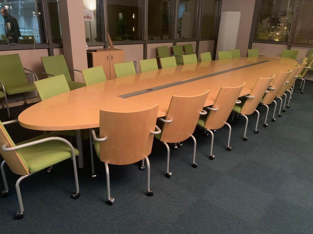 table de reunion 20 personnes