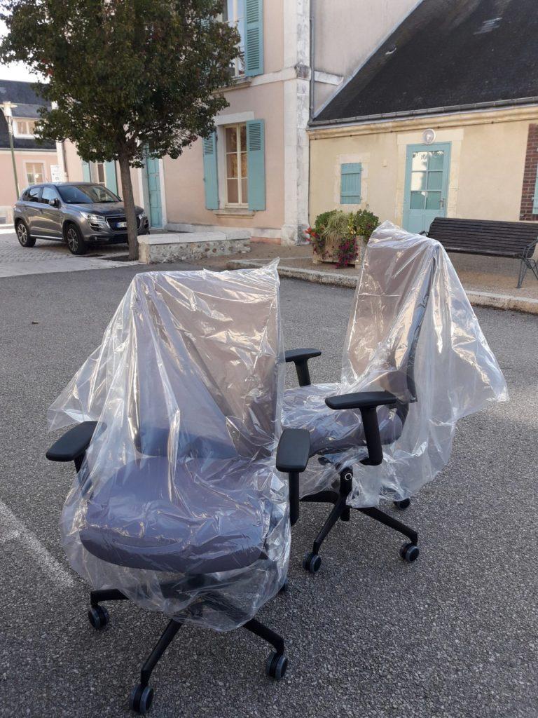 Sièges ergonomiques pour Mairie située dans l'Orne 61