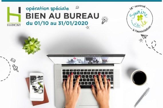 Promotion Harmony octobre 2019 – janvier 2020 – Mobilier de Bureau Alençon