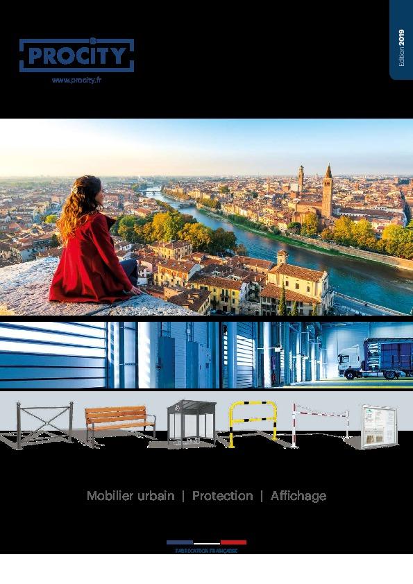 Procity – Mobilier urbain – 2019 – MobilierDeBureauAlençon.fr