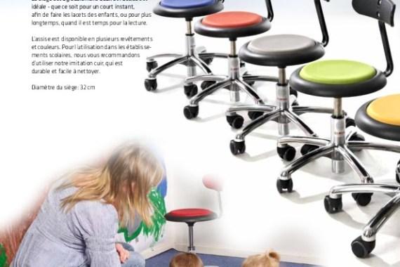 Sièges scolaires ergonomiques – 2019 Mobilier de Bureau Alençon
