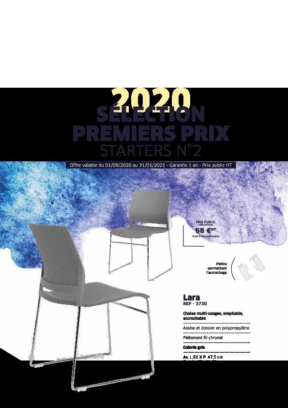 Sélection Premiers Prix – Starters N°2 jusqu'au 31-01-21 – Mobilier de Bureau Alençon