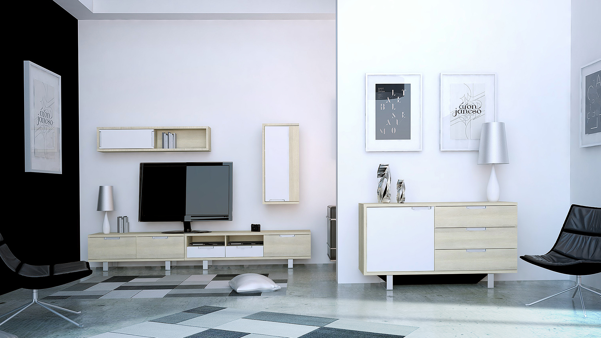 salon scandinave bois clair blanc ankmar 7 mobiliermoss le blog mobilier moss