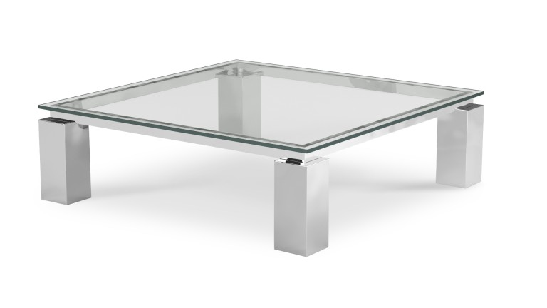 Table Basse Carree En Verre Contemporaine Arklow