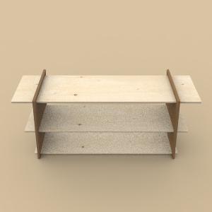 La structure de Mobilio + je récup' des planches