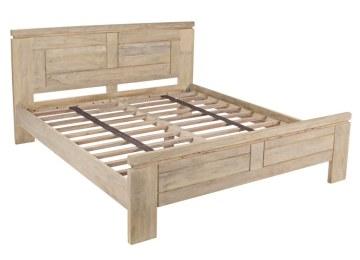 Letti In Legno Massello : Letti in legno massello letto matrimoniale modello barca noce