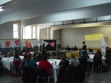 Commission populaire pour l'ACA à Laval, le 21 octobre 2015 - photo 1