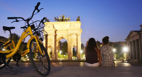 Il bike sharing free floating di OFO arriva in Italia