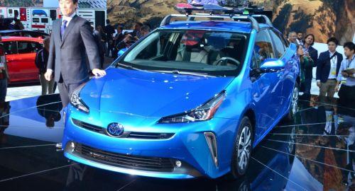 Toyota Prius e BMW Vision iNEXT al Salone di Los Angeles