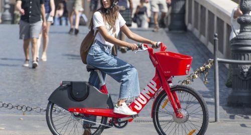 Uber Jump: il nuovo bike-sharing di Roma