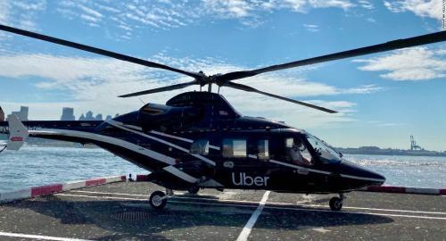 Uber Copter e Uber Elevate: inizia l'era della Urban Air Mobility