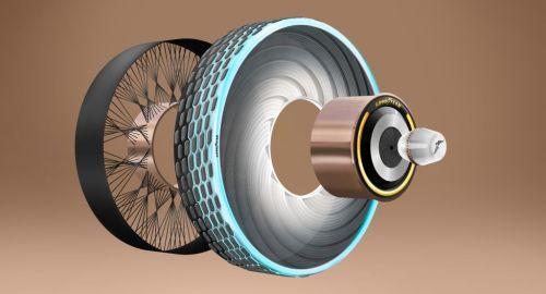 Goodyear reCharge: pneumatico biodegradabile adatto a tutte condizioni