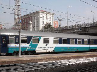 Treno notte Trenitalia 2021 2