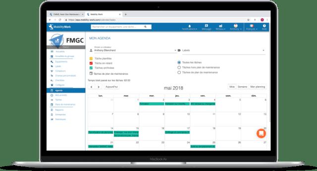 Planning de maintenance prédictive dans une GMAO mobile