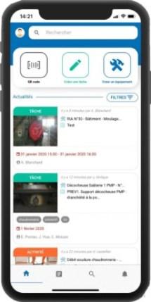 gmao mobile nouvelle génération application maintenance