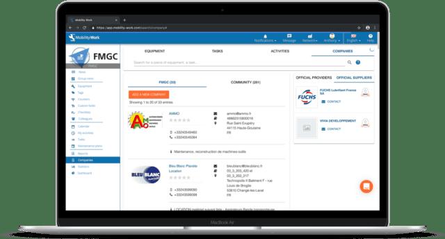 procurement catalog suppliers cmms
