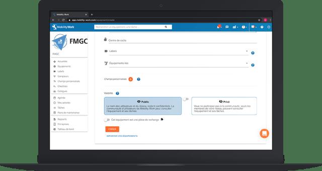Gérer la confidentialité de ses données dans la GMAO Mobility Work