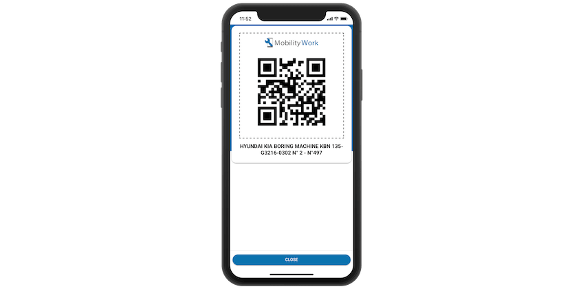 QR Code For Asset Or Inventory Management