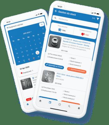 Application de GMAO mobile pour auto-maintenance sur smartphone