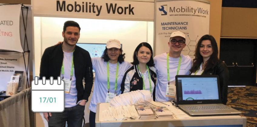CES 2019 : le bilan de la GMAO Mobility Work